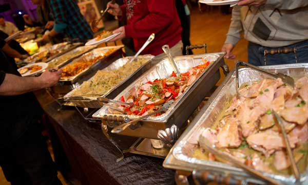 buffet style Catering New Britain