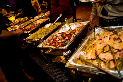 Catering Menus for weddings, corporate, non-profit and special events/private parties